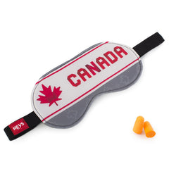 Maple Leaf Eye Shade & Ear Plug Set