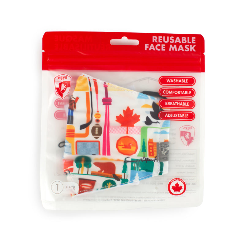 Reusable Face Masks - Britto New Day and FVT Canada