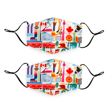 Reusable Face Masks - FVT Canada 2 Pack