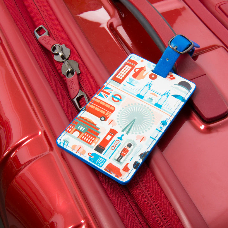 FVT Cities - London Luggage Tag