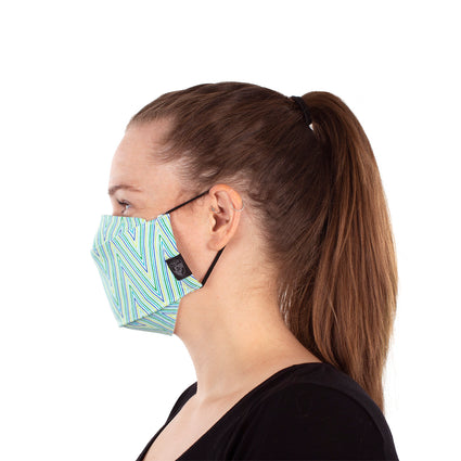 Reusable Fashion Face Mask - Herringbone