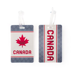 Maple Leaf Luggage Tag 2pc Set