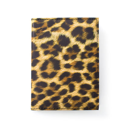 Leopard Passport Holder