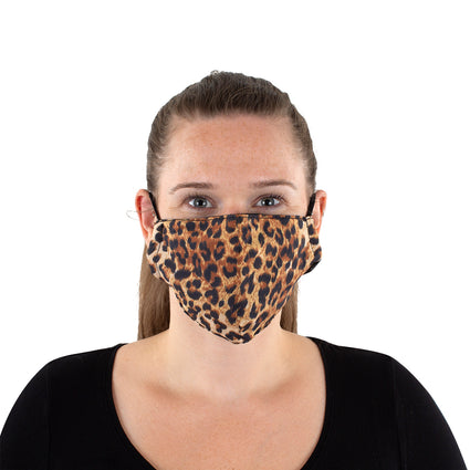 Reusable Face Mask - Leopard
