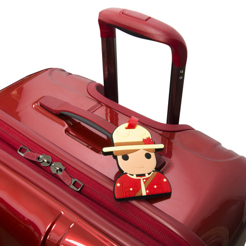 Mountie Luggage Tag