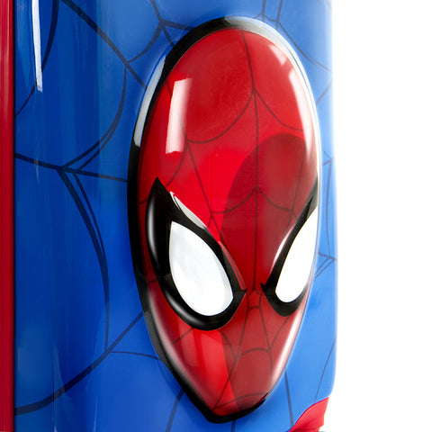 Marvel 3D Pop up Spinner Luggage - Spiderman (M-HSRL-3DTSP-SM01-16FA)