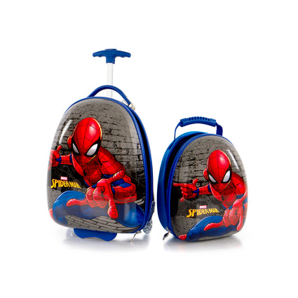 Marvel Kids Backpack & Luggage Set - Spiderman - (M-HSRL-ES-ST-SM01-20AR)