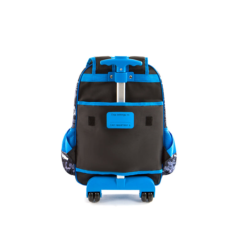 Spiderman Rolling Backpack - (M-WCBP-SM04-18AR)