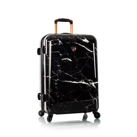 "Marquina - Black Marble 26"" Fashion Spinner®"