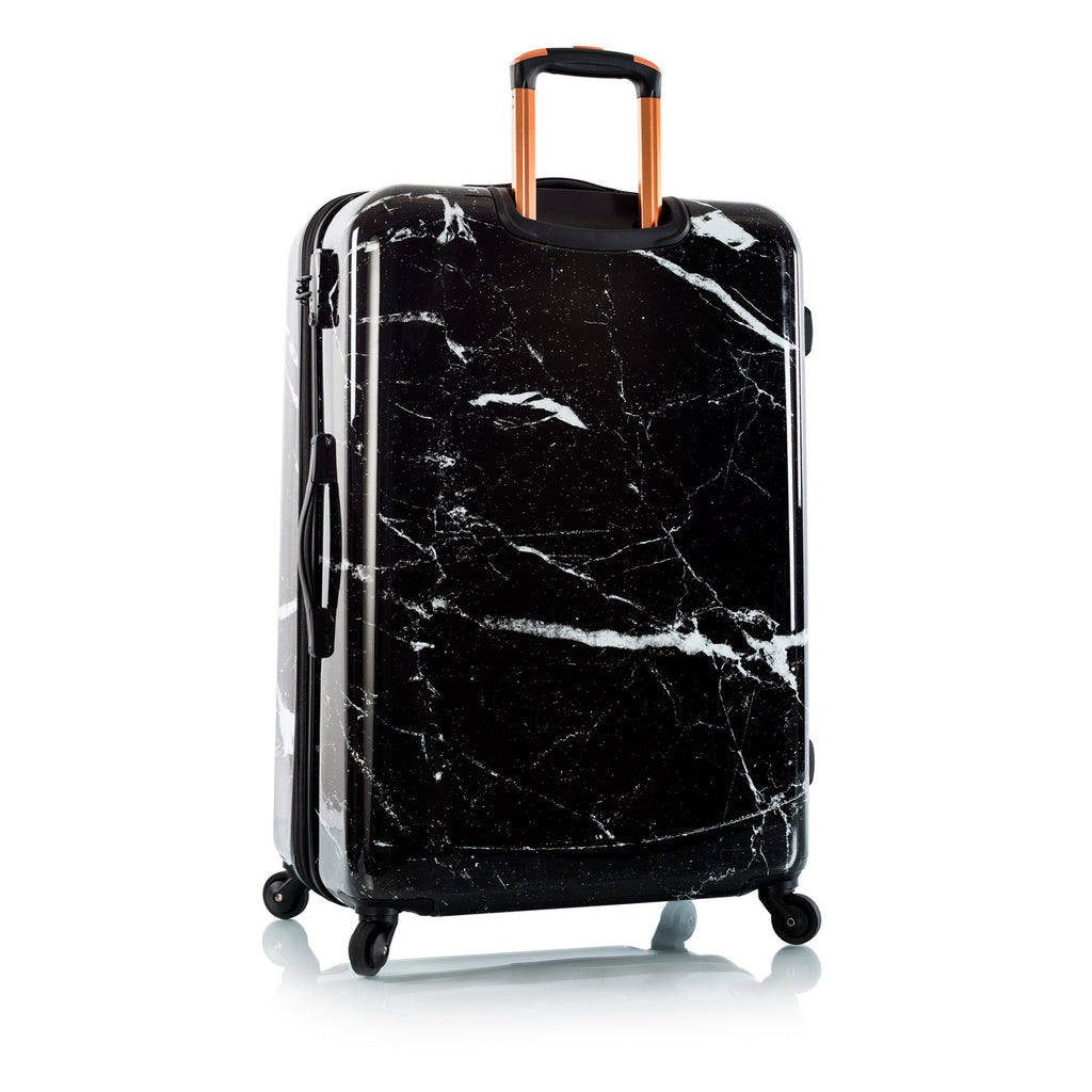 "Marquina - Black Marble 30"" Fashion Spinner®"