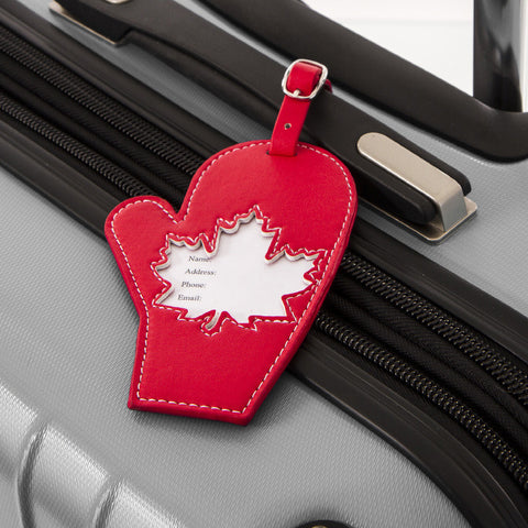 Mitten Luggage Tag