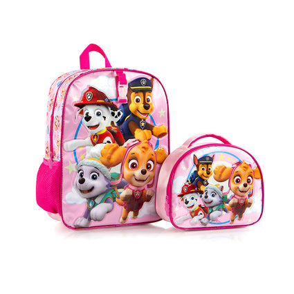 Nickelodeon Backpack with Lunch Bag - Paw Patrol  (NL-BST-PL06-18BTS)