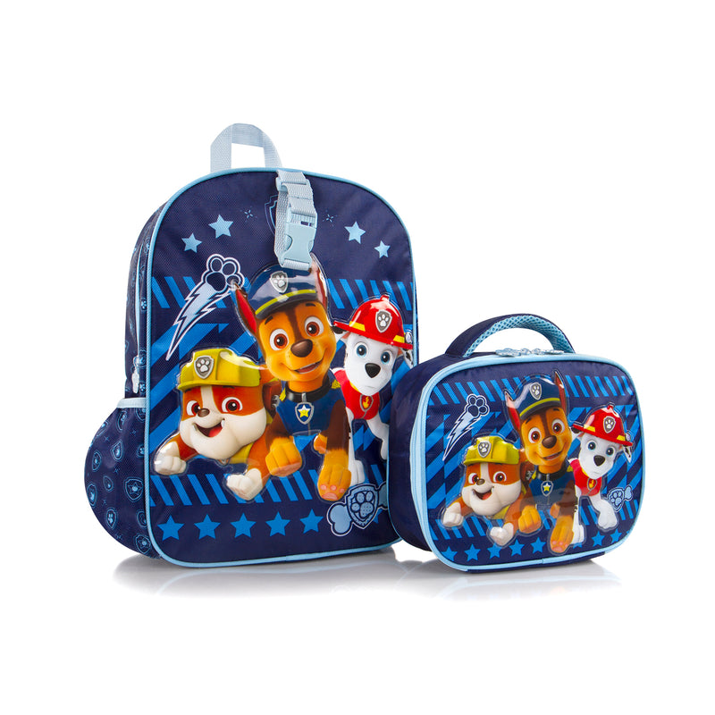 Nickelodeon Backpack with Lunch Bag - Paw Patrol  (NL-BST-PL13-20BTS)