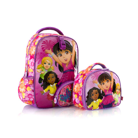 Nickelodeon Backpack with Lunch Bag - Dora (NL-ST-DR01-15FA)