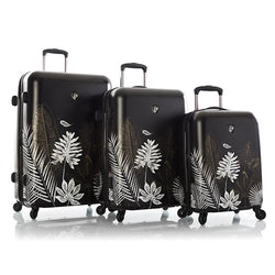 Oasis Black/Gold Leaf Fashion Spinner® 3pc. Set