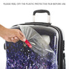 "Indigo Paisley 21"" Fashion Spinner® Carry-on"