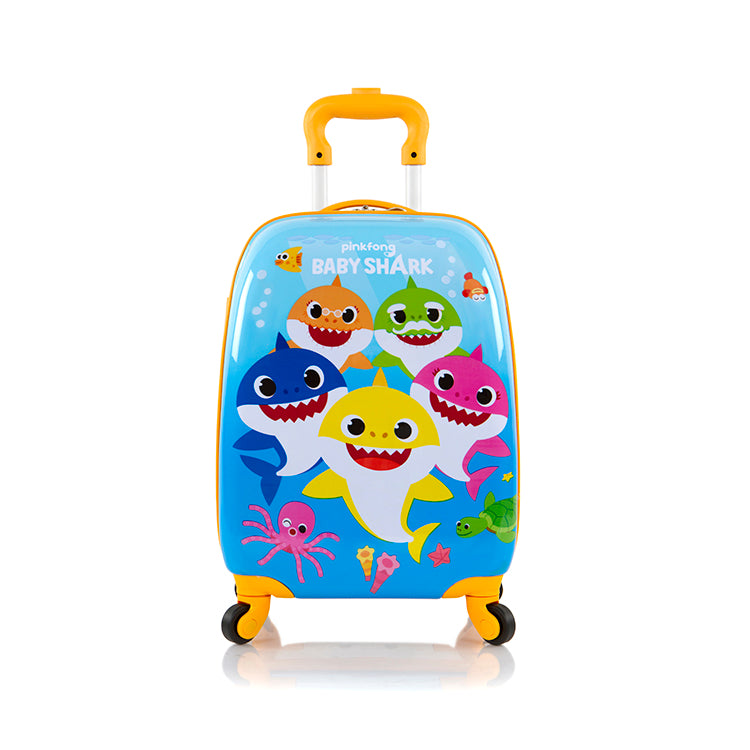 Pinkfong Kids Spinner Luggage - Baby Shark (P-HSRL-SP-BS06-19AR)