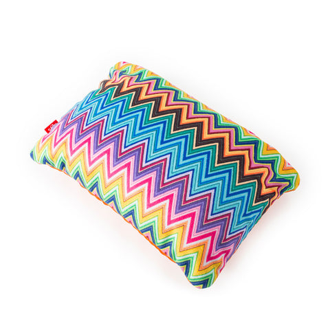 Colour Herringbone 2-in-1 Travel Pillow