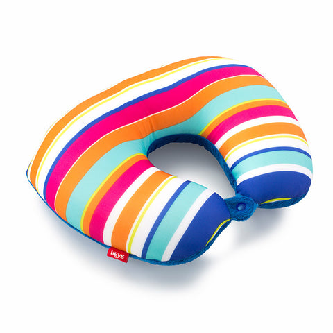 Stripes 2-in-1 Travel Pillow