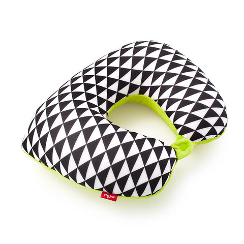 Triangles 2-in-1 Travel Pillow