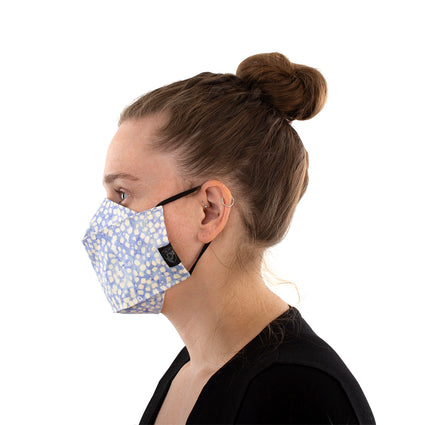 Reusable Fashion Face Mask - Polka Squares