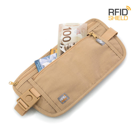 RFID Blocking Money Belt