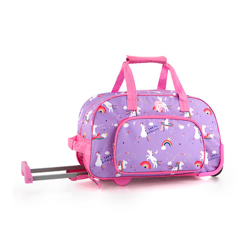 Kids Rolling Duffel - Unicorn