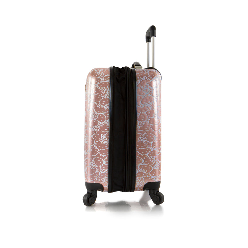 Hello Kitty Luggage and Beauty Case 2 pc. Set (S-HSRL-ST-HK05-20AR)