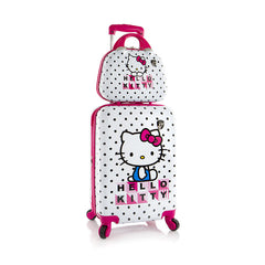 Hello Kitty Luggage and Beauty Case 2 pc. Set (S-ST-HSRL-HM06-15FA)
