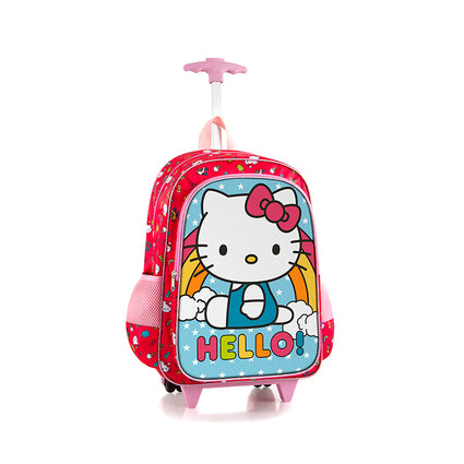 Hello Kitty Kids Rolling Backpack (S-WBP-HM02-18AR)