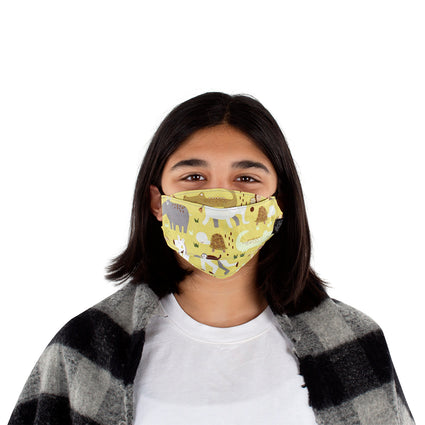 Kids Reusable Fashion Face Mask - Safari