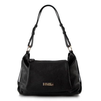 Shades of Morocco Shoulder Bag with Detachable Crossbody - Black Pepper
