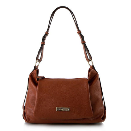 Shades of Morocco Shoulder Bag with Detachable Crossbody - Cinnamon