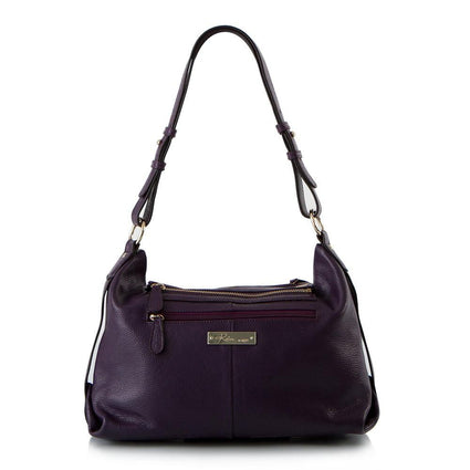 Shades of Morocco Shoulder Bag with Detachable Crossbody - Juniper Berry