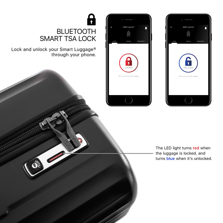 "Smart Luggage® 21"" Carry-on"