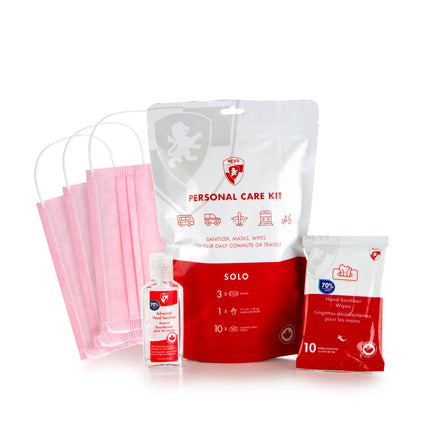 Personal Care Kit - Solo (Pink)
