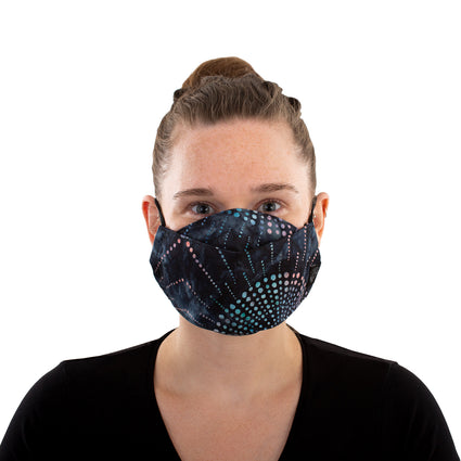 Reusable Fashion Face Mask - Tie Dye Galaxy