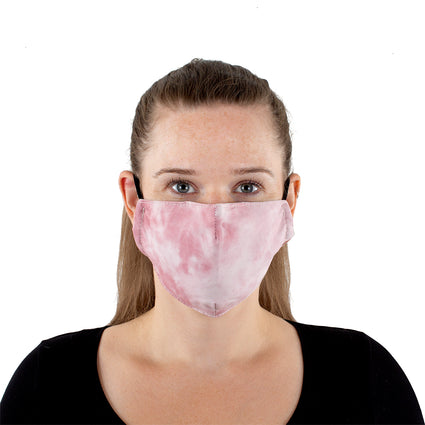 Reusable Face Mask - Rose Tie-Dye