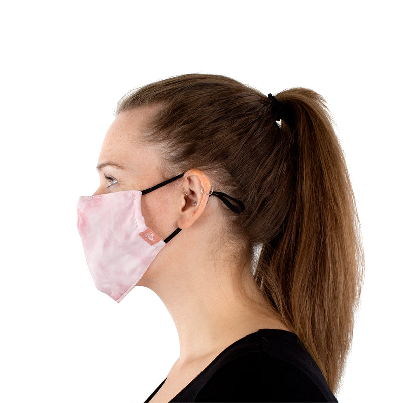 Reusable Face Masks - Black Camo and Rose Tie Dye