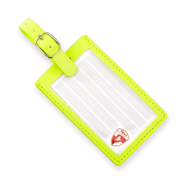 Triangles Luggage Tag