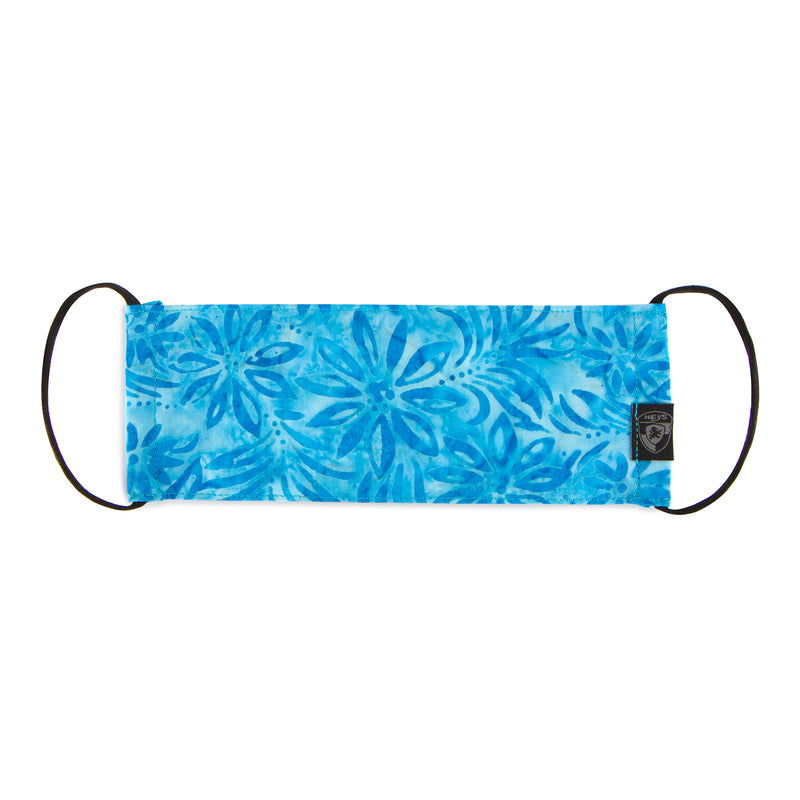 Reusable Fashion Face Mask - Tropical Blue
