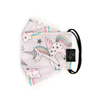 Kids Reusable Fashion Face Mask - Unicorn