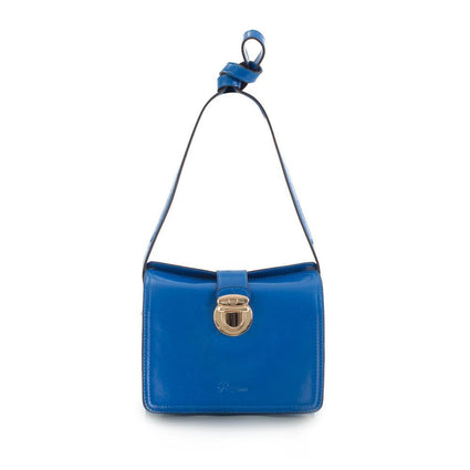 Maui Bay Crossbody w. Tab Lock Closure - Victoria Blue
