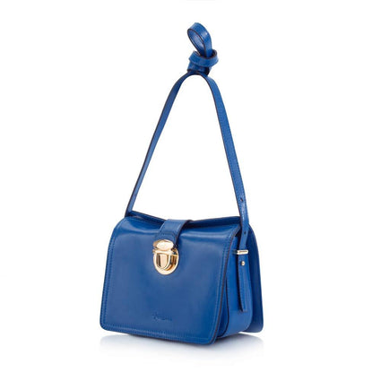VICTORIA DAY DOOR CRASHER - Maui Bay Crossbody w. Tab Lock Closure - Victoria Blue