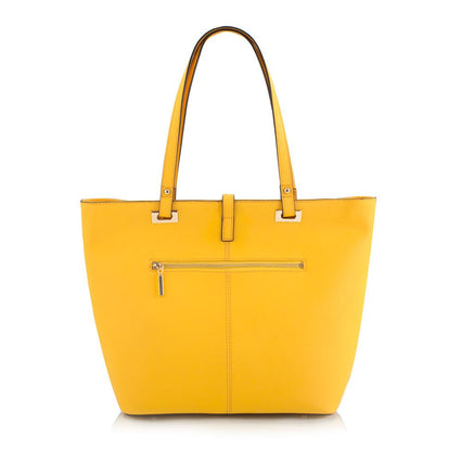 Maui Bay East/West Tote w. Tab/Zip Top Closure - Pineapple