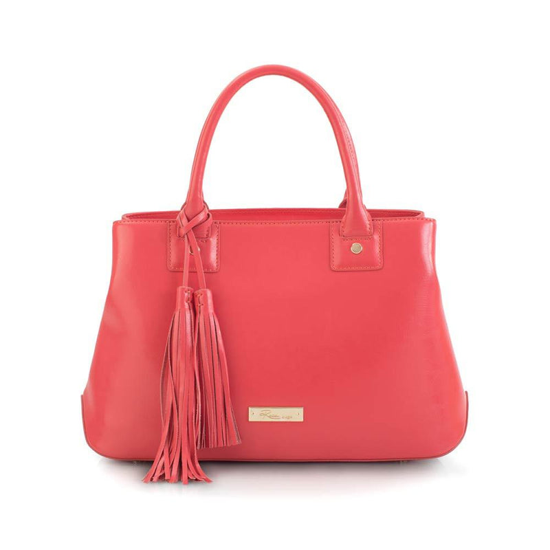 Maui Bay Satchel w.Tassel Detail - Watermelon