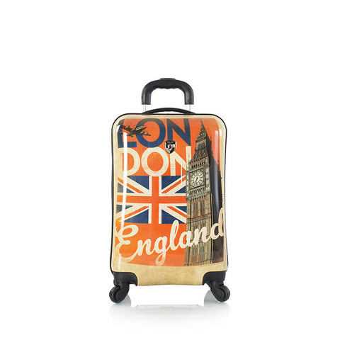 "Vintage Traveler 21"" Fashion Spinner® - London"