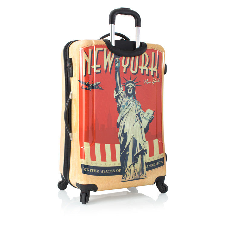 "Vintage Traveler 30"" Fashion Spinner® - New York"