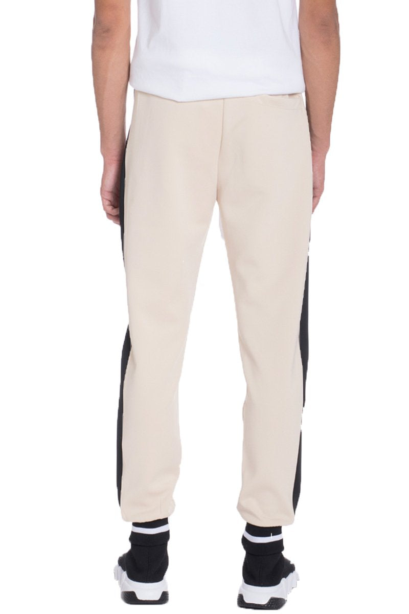 RALLY TRACK PANTS- BEIGE