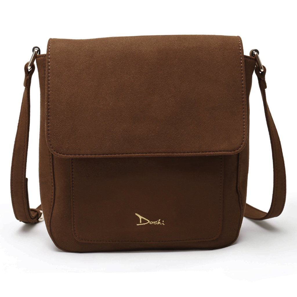 Doshi Portrait Suede Bag - Vegan